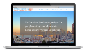SF Transportation 2030 Website