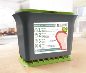 Food to Fuel Recycling Bin