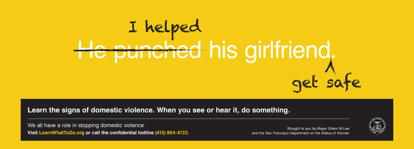 domestic violence campaign featured image