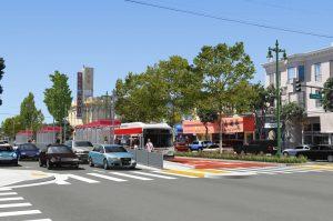 Geary BRT simulation rendering