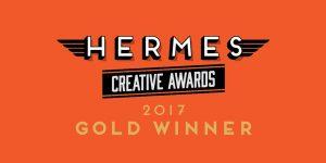 Hermes Award graphic