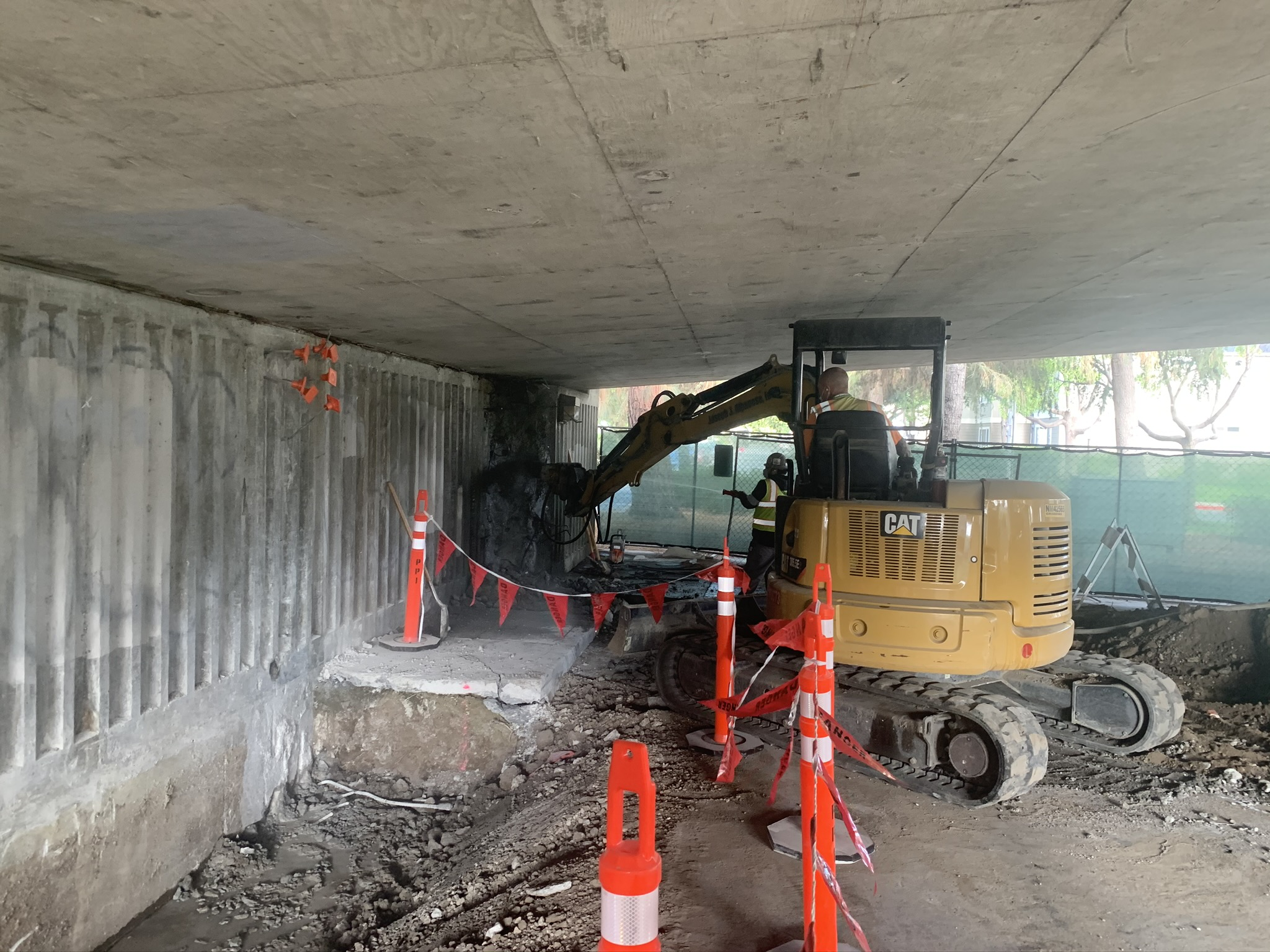 Abutment Work - August 2020