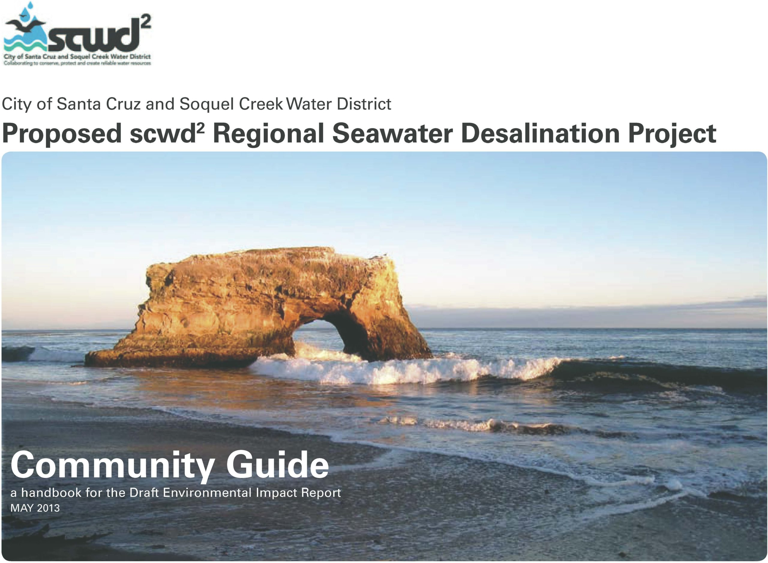 Santa Cruz Desalination Pilot Program  Community Guide Cover